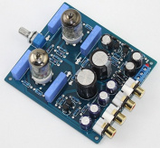 Q-BAIHE X10-D 6J1 tube preamplifier stereo completed board include the tubes