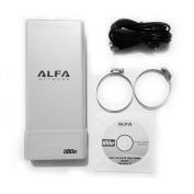 Alfa Network ubdo-g8 - Wi-Fi USB Adapter 802.11b/g, Long Range, Radio, Type N, 8 M Cable External Antenna Connector