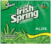 Irish Spring Deodorant Soap Aloe 105 g 3-Count