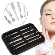 DINGANG® Blackhead Extractor Tool Set for Facial Acne and Comedones