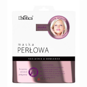 L'Biotica Hydrogel Pearl Face Mask on Fabric Brightens and Rejuvenates 25g