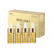Bergamo Luxury Gold Caviar Ampoule 4set,gift Set,all Skin Type,gold Moisturising