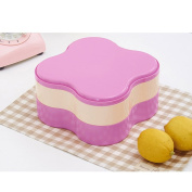 Fruit Plate Plastic Double Sub-grid Modern Compact Dry Fruit Candy Fruit Storage Tray