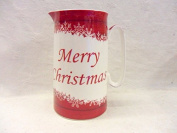Merry christmas snowflake design large size jug for the Abbeydale collection.