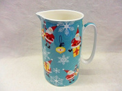Christmas santa design large size jug for the Abbeydale collection.