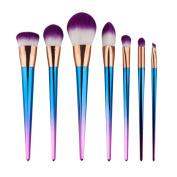 Jamicy® 7PCS Makeup Brush Fashion Colourful Makeup Brush Eyeshadow Brush