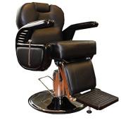 OMWAH All Purpose Hydraulic Modern Recline Barber Chair Salon Beauty Spa Shampoo Equipment