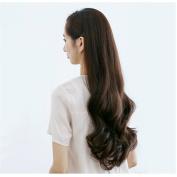 BESTLEE Women Synthetic 3/4 Half Wig Full Hair Long Wavy Curly Wig 70cm