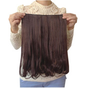 DAYISS Lady 5 Clip In Hair Extensions Long Wavy Curly Pieces for Women Hairpiece