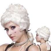 Sepia Costume Colonial lady Synthetic Wig - White