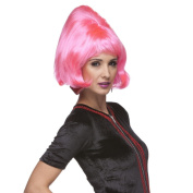 Sepia Costume New Beehive Synthetic Wig - Hot Pink
