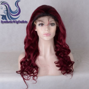 Sunny GraceOmbre T1B/Burgundy Brazilian Virgin Hair Glueless Lace Front Human Hair Wigs With Baby Hair Full Lace Wigs For Black Women