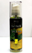 New Advanced 2 in 1 Hair Oil (Aloe & Lemon) 120ml