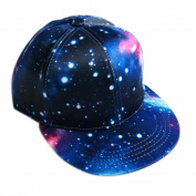 Sport Cap, HP95(TM) Boys Girls Print Star Hip-Hop Baseball Cap Outdoors Flat Snapback Hat