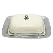 Better & Best 2312012 - Butter dish, white colour