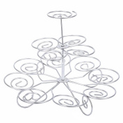 Cake Pop Stand, Amazingdeal365 Cake Decorating Holds 13 Cupcakes,3 Tier