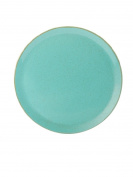 "(162928SS) NEW Seasons Range of rustic inspired tableware by Porcelite ***SET OF 4 Sea Spray Pizza Plates 28cm / 11""' '***"