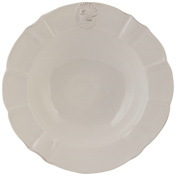 Clayre Eef 6CE0372 & deep plates approx. 21 CM Soup Bowl