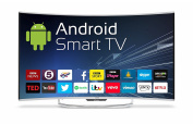 Cello C55ANSMT 140cm Android Smart LED 4K Curve Screen TV + Wi-Fi & Freeview T2 HD