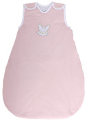 "Baby Sleeping Bag ""Guardian Angel Rose"", Summer Model, 100% Cotton Shell, 1 Tog (Large"