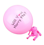 Da.Wa Latex Balloons 'Will you merry me.' Round Balloons Wedding Room Layout Balloon Toys Wedding Decoration 100 pcs