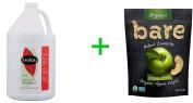 Shikai Natural Colour Care Shampoo -- 3.8l,Bare Organic Baked Crunchy Apple Chips Gluten Free Great Granny -- 90ml