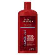 Vidal Sassoon Pro Series Classic 2 in 1 Shampoo and Conditioner 25.3 Fluid Ounce by Vidal Sassoon