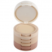 Shouhengda Face Pressed Powder Concealing 5 Colour Shading Contouring Powder Palette Foundation Base Makeup