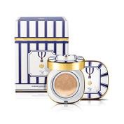 [K-Beauty] O HUI X TEO YANG Triple Stripe Edition Ultimate Cover CC Cushion Set