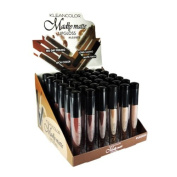 KlEANCOlOR Madly Matte lip Gloss Display Case Set 36 Pieces - lG1815