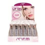 NICKA K Lip Gel Display Case Set 48 Pieces - Clear