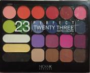 NICKA K Perfect TWENTY THREE 23 MATTE colours Eye Shadow & Blush Set