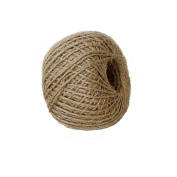 Foyojo Soft 90m Natural Jute Twine String Rope Arts Crafts Christmas Twine Industrial Packing Wedding Gift Tags Wrap Decor
