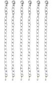 Necklace Bracelet Extender Set ~ 6 pcs 10cm Silver Tone