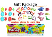 Purple, Fushia,Bright Blue, Green Play-Doh 4-Pack of Colours 470ml Gift Set Gift Toy for Boys and Girls 1 pack of 4 cans