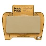 MastaPlasta, Leather Repair Patch, First-Aid for Sofas, Car Seats, Handbags, Jackets, Plain, Beige Medium Stitch 10cm x 6.1cm