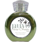 Nuvo by Tonic Studios NUV701N Glitter Pure Sheen, Olive Green