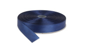 Dark Blue. High End Thick . 2.5cm 50 Yards Roll Ribbons