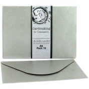 Fundamentals Cardmaking A6 Envelopes 10/Pkg-Silver