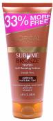 L'Oreal Paris Sublime Bronze Tinted Self-Tanning Lotion Streak-Free, Medium-Natural Tan, 200ml