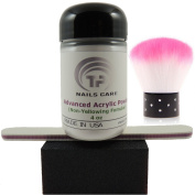 Advanced Acrylic Powder . Acrylic Nails 120ml plus nail buffer, nail file, nail dusty brush .