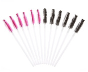BeautyCoco 100pcs Multicolor Disposable Mascara Wands Eyelash Brushes Eye Lash Makeup Applicators Brush Kit