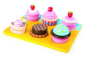 Small Foot 10149 Cupcakes and Cakes Cutting Set