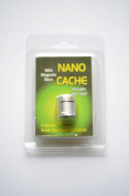 Top Offer - Nano Silver Magnetic with 2 Log Geomate Geocaching, Container, Box, Hide, Waterproof Micro