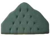 2FT6 Small single Green headboard bed head end board.Narrow single size