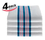 Bella Kline Baby Hospital Receiving Blankets - 4 Pack