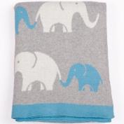 Animal Elephant Baby Blanket