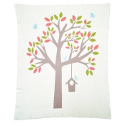 Nursery Tree Baby Blanket Colour