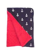 BayB Brand Blanket - Ships Ahoy!