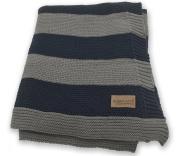 Bambino Land Knit Blanket - Stripes